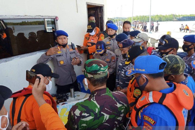 Pencarian tiga personel Polairud Polri berlanjut hari kedua