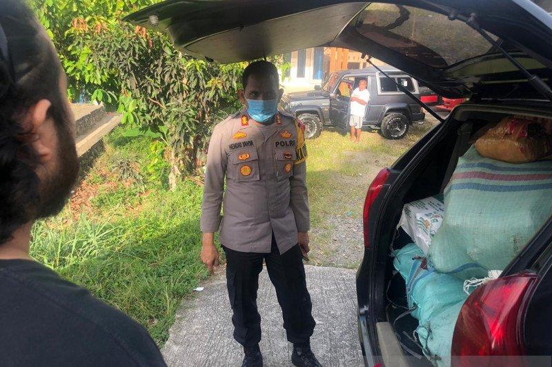 Polres Pasaman tangkap dua pembawa 102 kilogram ganja