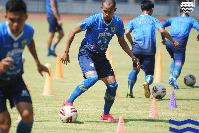 Kapten Persib Bandung girang bisa kembali berlatih bersama