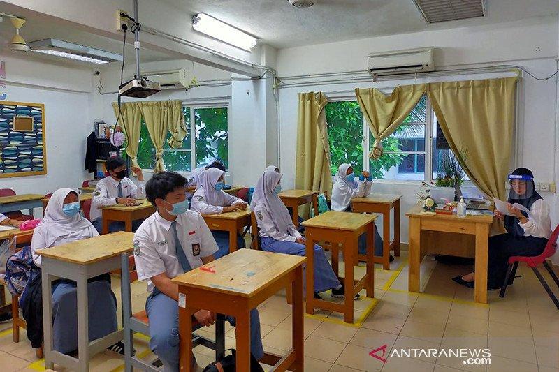Sekolah Indonesia Kuala Lumpur mulai belajar kembali di sekolah