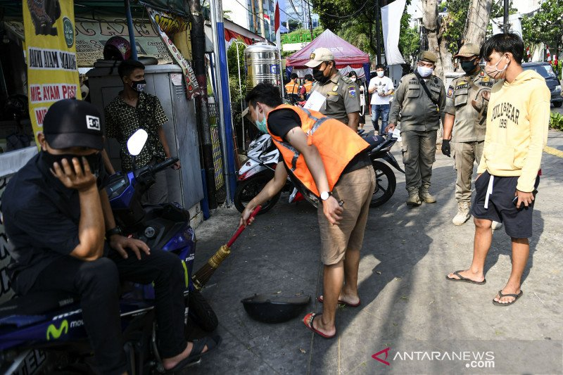 Sanksi bagi pelanggar PSBB di Jakarta
