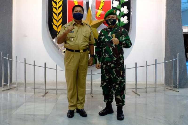 Pangdam Jaya Mayjen Dudung Abdurachman pamitan Wali Kota Magelang
