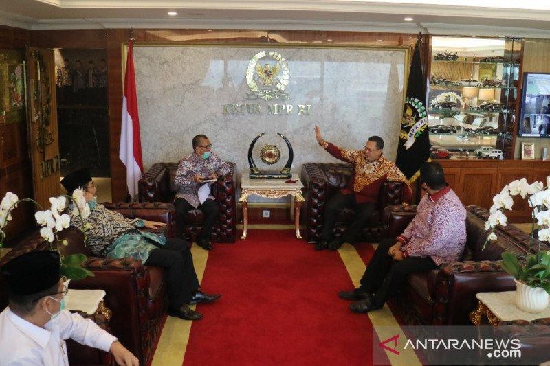 Ketua DKPP beraudiensi dengan MPR dan KY untuk gelar konvensi etika