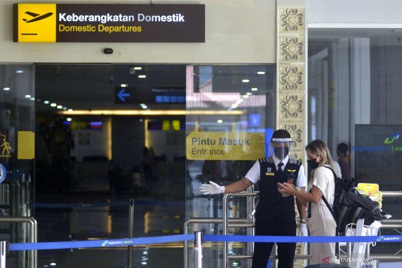 Juli 2020, pergerakan penumpang Bandara Ngurah Rai Bali naik