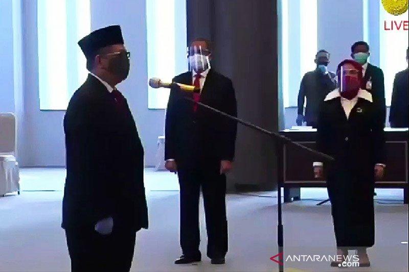 Doni Primanto dilantik jadi Deputi Gubernur BI, ucapkan sumpah di MA