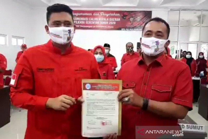 Bobby Nasution ucapkan terima kasih kepada Megawati