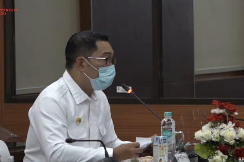 Ridwan Kamil: Jabar paling rawan terhadap COVID-19
