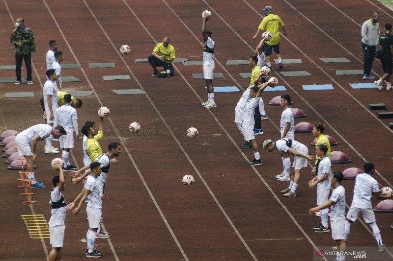 Persib Bandung siapkan menu latihan mandiri yang lebih spesifik