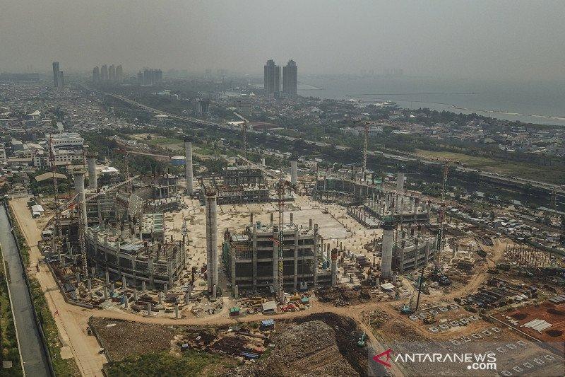 Pembangunan Jakarta International Stadium capai 25 persen