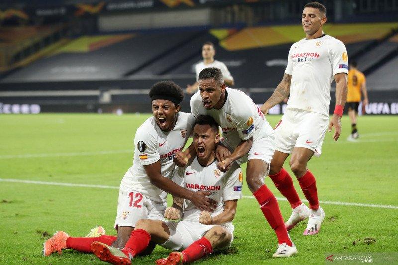 Liga Europa: Kalahkan Wolves, Sevilla hadapi MU di semifinal