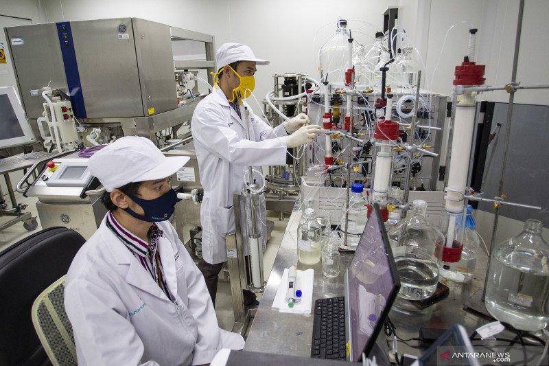 Menristek: Vaksin Merah Putih bisa diekspor