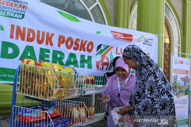 ACT sediakan Lumbung Sedekah Pangan di Masjid Al Falah Bukittinggi