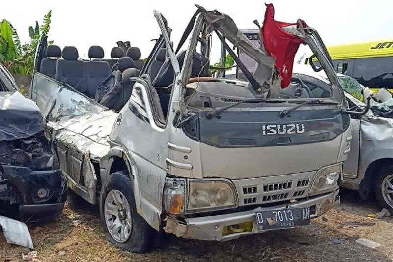 Polisi: Bus Elf kecelakaan di Tol Cipali tidak laik jalan