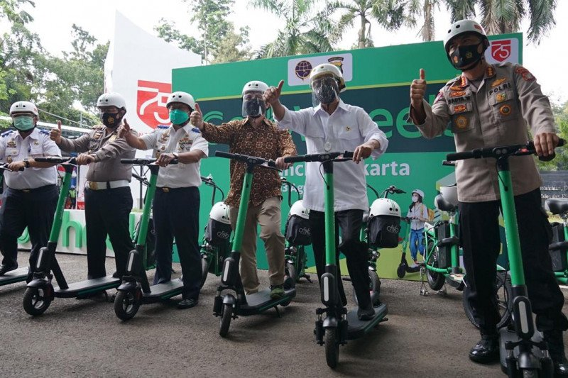Menhub: Grab Wheels alternatif transportasi di tengah pandemi