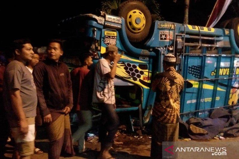 Polisi sebut kecelakaan maut di Sempolan Jember diduga rem blong