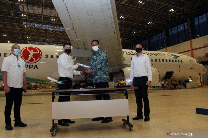 Kerja sama layanan charter pesawat