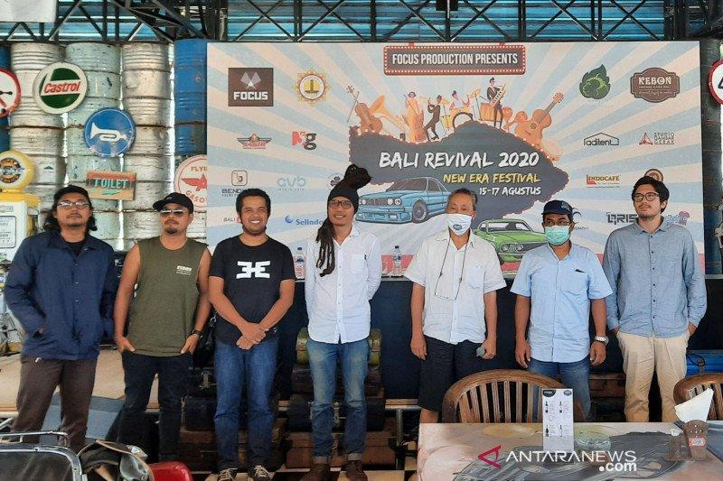 Sejumlah musisi siap ramaikan konser 'drive-in' pertama di Bali
