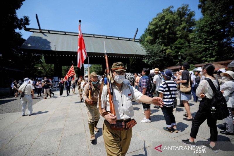 Peringati PD II, Shinzo Abe bersumpah tak akan mengulang perang
