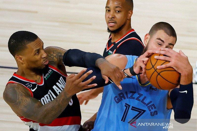 Blazers singkirkan Grizzlies demi rebut tempat terakhir playoff NBA
