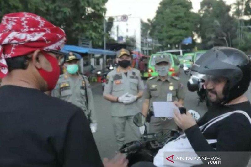 215 warga Kota Bogor terjaring operasi tertib masker