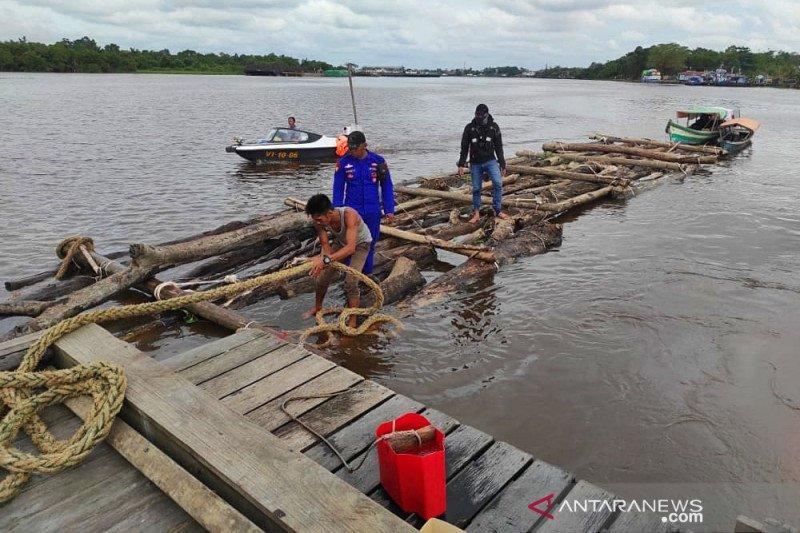 Polda Kalimantan Barat sita 1.000 batang kayu log ilegal