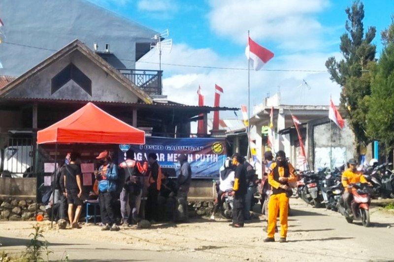 10 ribuan pendaki mendaftar untuk peringati HUT RI di Bawakaraeng
