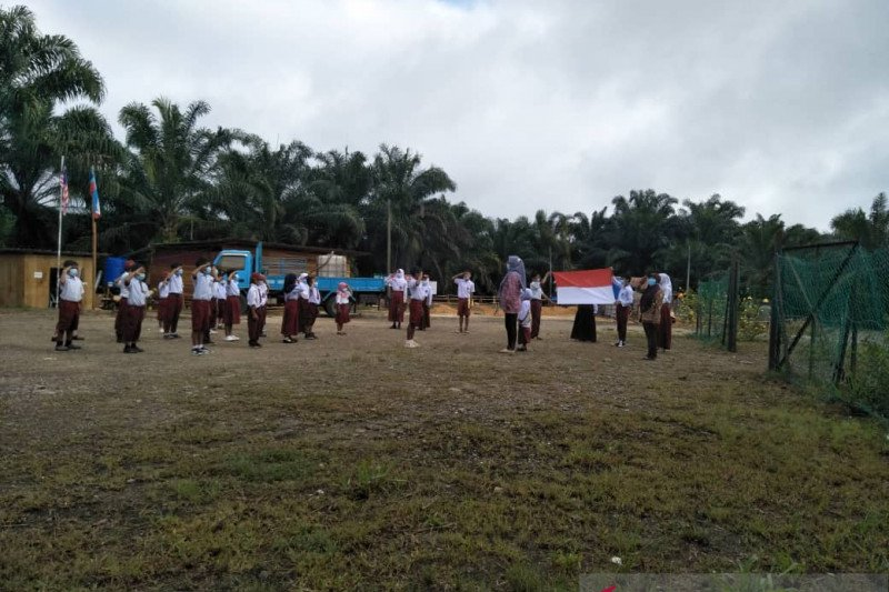 Sekolah anak TKI di Sabah peringati HUT RI