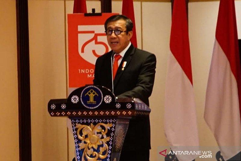 Menkumham sampaikan lima masukan terkait RUU Mahkamah Konstitusi