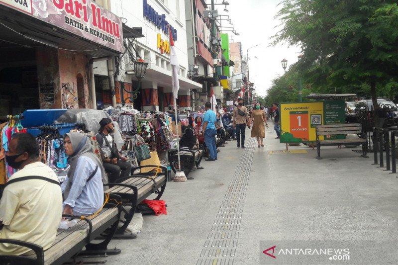 Omzet pedagang kaki lima Malioboro meningkat pada HUT Kemerdekaan RI