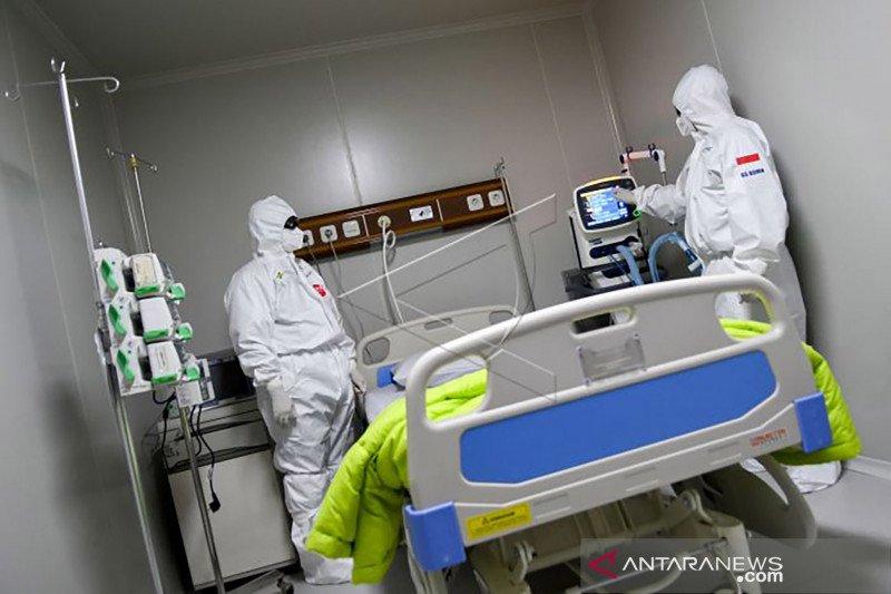 514 tempat tidur ICU terpakai untuk pasien COVID-19 di Jakarta