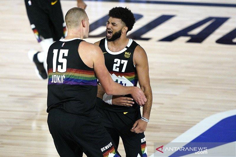 Nuggets rebut gim pertama kontra Jazz lewat overtime
