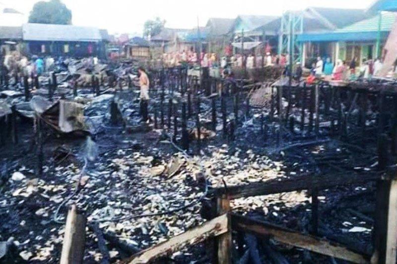 Polisi Barito Selatan selidiki terbakarnya 11 rumah dan bagunan walet