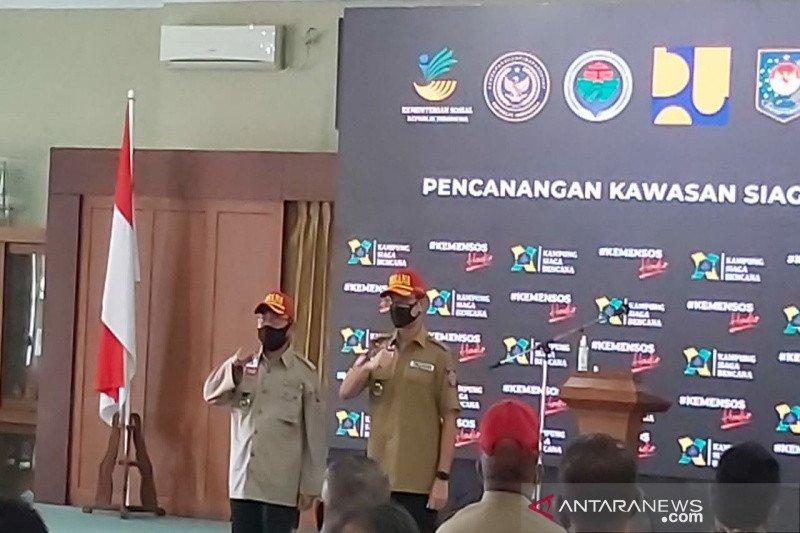 10 kampung siaga bencana di Kulon Progo-DIY diaktivasi Mensos