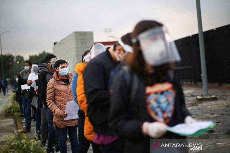 Meksiko lampaui 700.000 kasus COVID-19 yang dikonfirmasi
