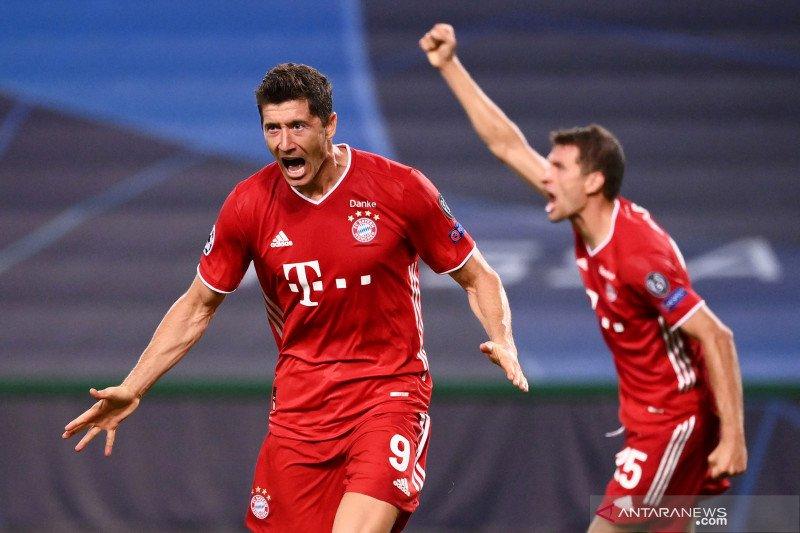Liga Champions: Bayern melaju ke final setelah tundukkan  Lyon 3-0