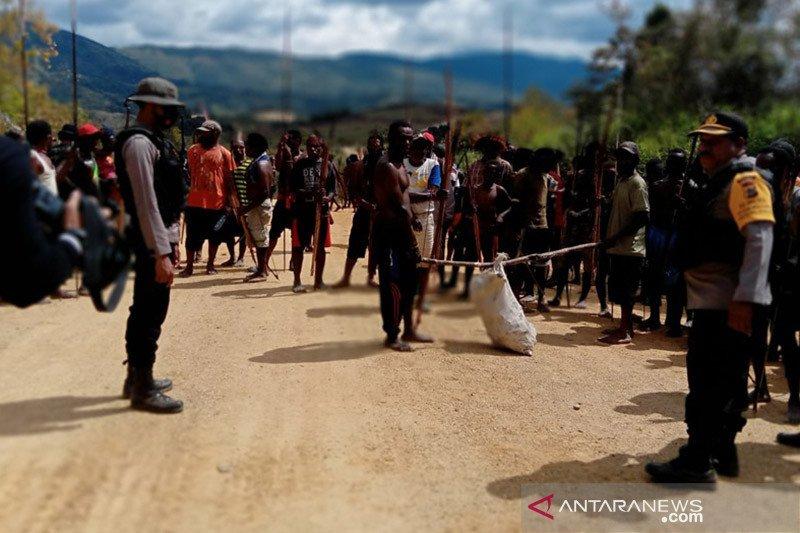 Kodim Jayawijaya turunkan personel bantu redakan konflik antarwarga