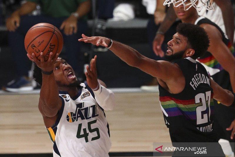 NBA: Utah Jazz kalahkan  Denver Nuggets 124 - 105
