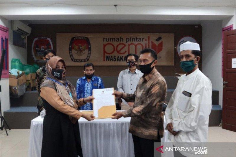 Pasangan Khairul-Habib Ali sah calon perseorangan Pilkada Banjarmasin