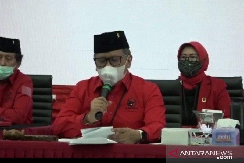 129 Calon kepala daerah ikuti Sekolah Partai PDI Perjuangan