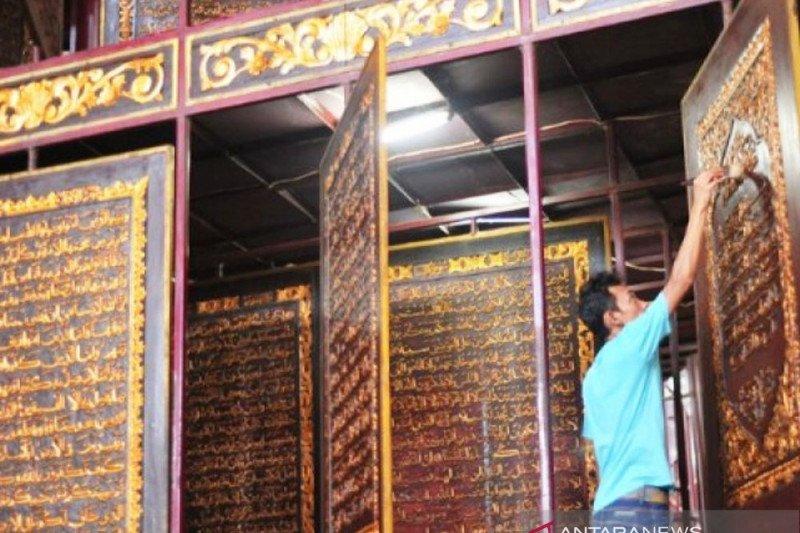 Pengunjung Al Quran Al Akbar Palembang meningkat