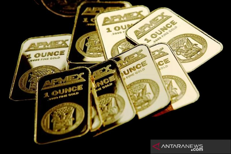 Emas melonjak 14 dolar saat optimisme bantuan COVID-19 di AS meningkat