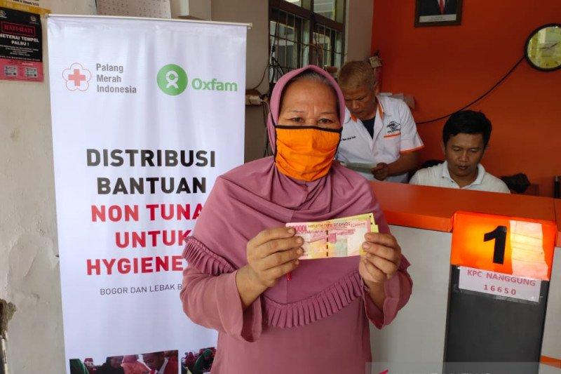 PMI salurkan bantuan non-tunai untuk korban longsor Lebak dan Bogor