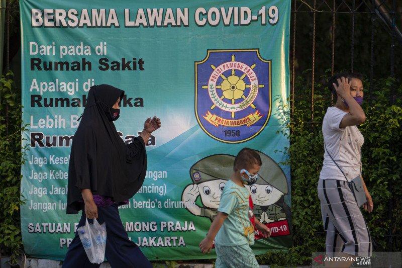 Senin, tingkat kesembuhan COVID-19 Jakarta jadi 91,2 persen