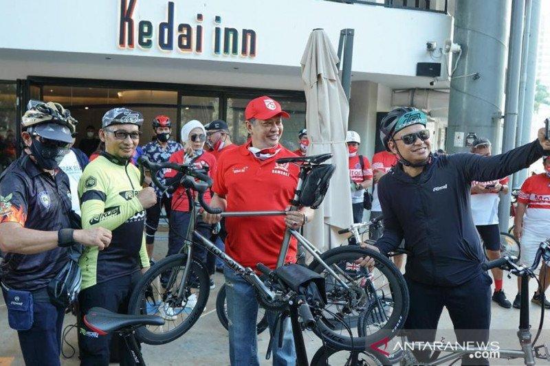 Bamsoet dorong Pemerintah perluas jalur khusus bersepeda