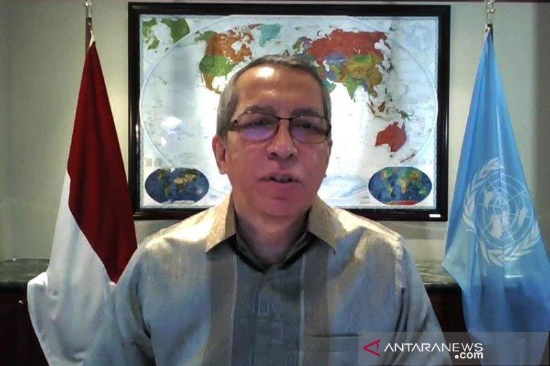 Presidensi Indonesia di DK PBB bahas Yaman, Suriah, Mali dan Somalia