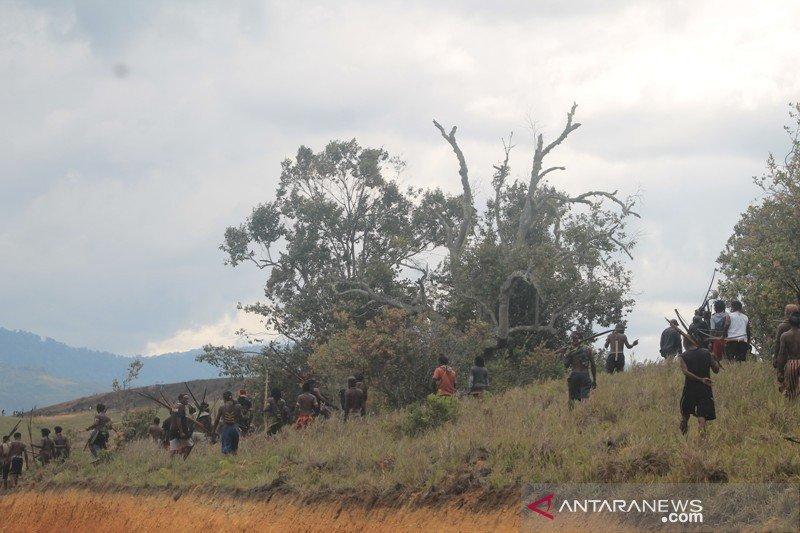Dua kampung di Jayawijaya sepakat hentikan perang