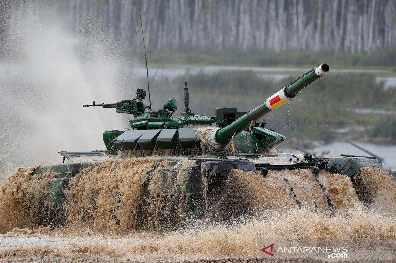 Kompetisi tank internasional di Rusia