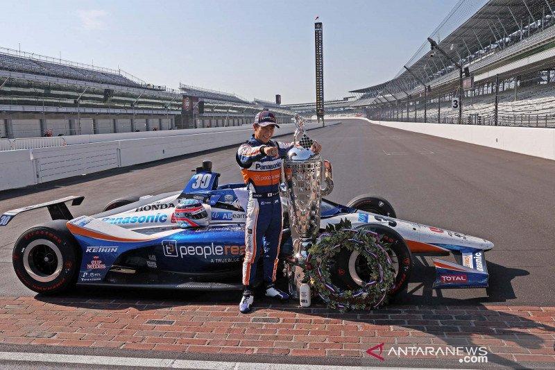 Takuma Sato juara IndyCar di Indianapolis