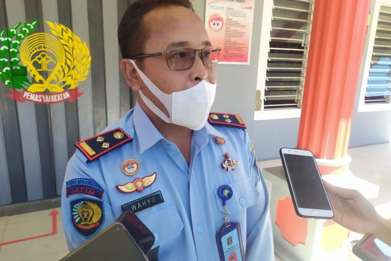 Lima napi dan tahanan Mojokerto positif COVID-19