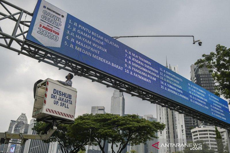 Polda Metro Jaya tunggu pergub terkait ganjil genap saat PSBB total